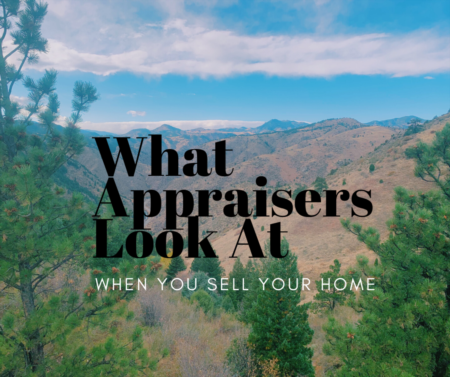 What Appraisers Look At