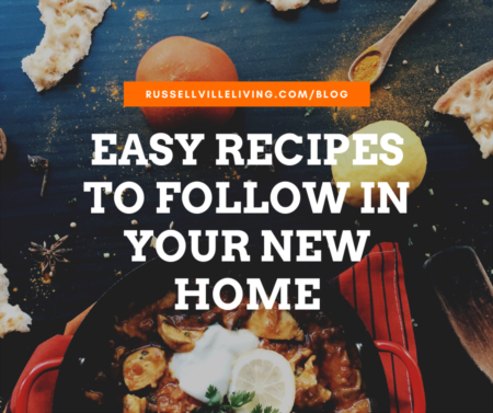 Easy Recipes To Follow In Your New Home