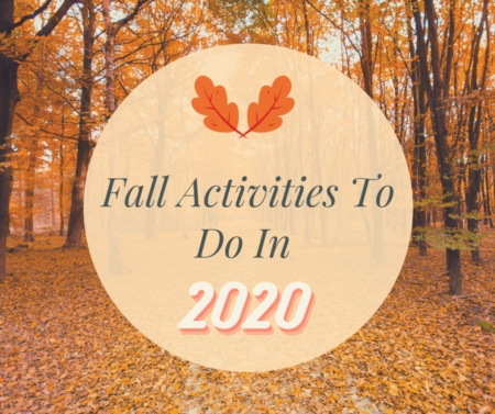 Fun Fall Activities For 2020