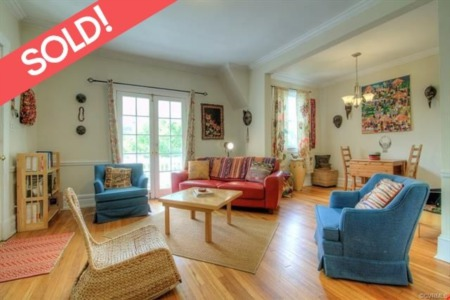 The Fan Real Estate Listing - SOLD