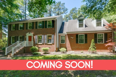 Chesterfield Real Estate Listing - Coming Soon