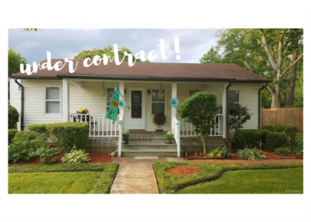 Sandston Real Estate Listing – Under Contract