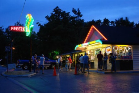 The Iconic Polly's Freeze: Opening Day March 21st