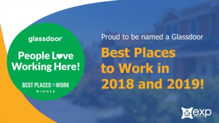 eXp Realty Named a Best Place to Work for Second Year in a Row