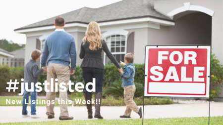 #justlisted: New Listings This Week