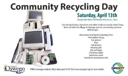 Oswego Community Recycling Event