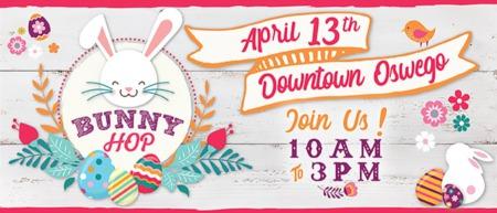Oswego Bunny Hop - Downtown Oswego IL