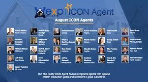 eXp Realty Announces August 2019 ICON Agents