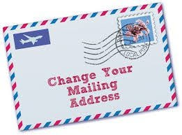 Step 29 to Selling your Home: Change your Address