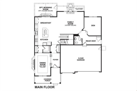 Churchill Club Floor Plans - Oswego IL