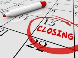Step 21 to Selling Your Home: Schedule the Closing Date on your Calendar