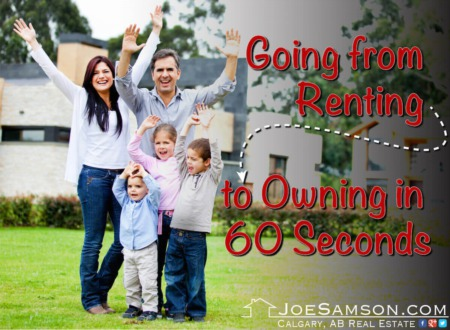 Going from Renting to Owning a Home in 60 Seconds
