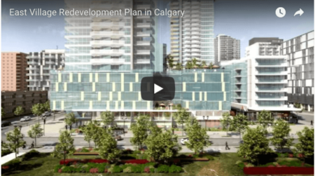 East Village Redevelopment Plans - 3D Animation