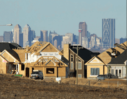 Construction Boom in Calgary