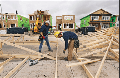 Decline in Resale Triggers Construction Boom