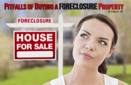 Pitfalls of Buying a Foreclosure Property