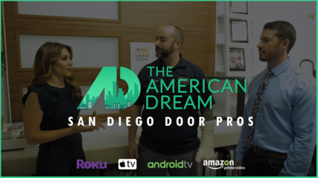 American Dream TV: San Diego Door Pros