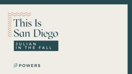 This is San Diego: Julian in the Fall