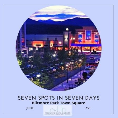 7 Spots In 7 Days - Spot 5 Biltmore Park in Asheville