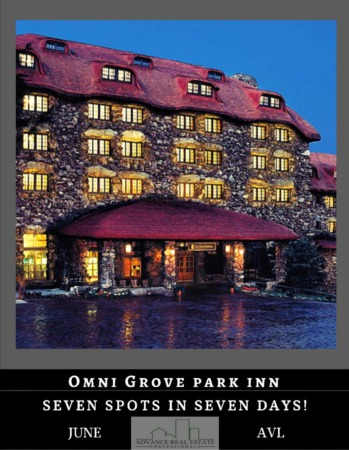 7 Spots In 7 Days - Spot 6 Grove Park Inn in Asheville