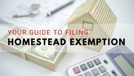 Time to File Your Residential Homestead Exemption