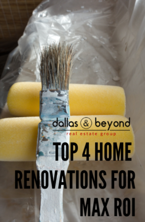Top 4 Home Renovations for Max ROI [INFOGRAPHIC]