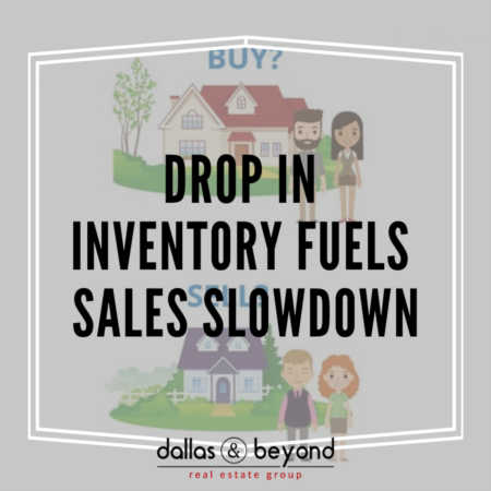 Drop in Inventory Fuels Sales Slowdown [INFOGRAPHIC]