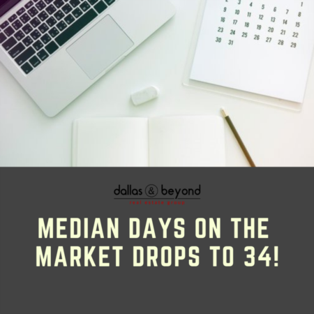 Median Days on the Market Drops to 34! [INFOGRAPHIC]