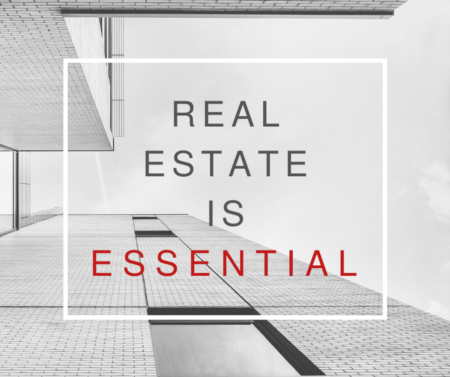 Governor Announces Real Estate is Essential