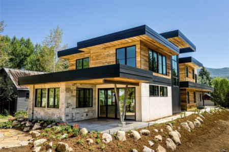 Ten Mountain Contemporary Homes For Sale In Steamboat Springs
