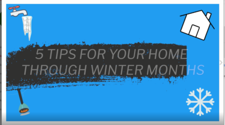 5 Tips For Your Home Through The Winter