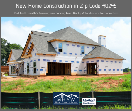 New Construction Homes In East Louisville Ky 40245