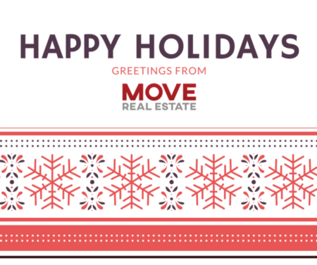 Happy Holidays from MOVE Real Estate
