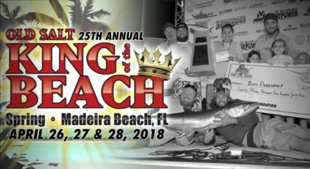 25th Annual King of the Beach - April 26 - 28
