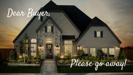 Prosper Tx Housing Demand Is so High that Builders Stop Writing Contracts