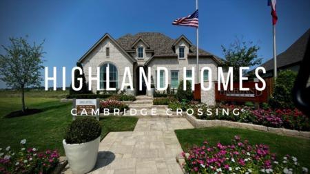 Cambridge Crossing Celina Tx - Highland Homes 50s Model