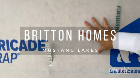 Building A Britton Home - Mustang Lakes - Sheetrock