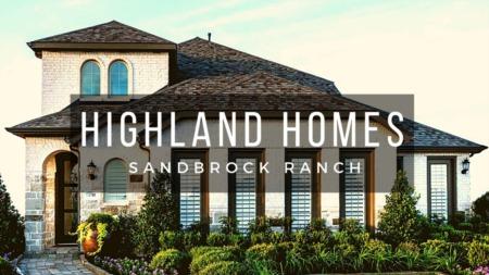 Sandbrock Ranch - Highland Homes Model Tour 45s | Celina Tx