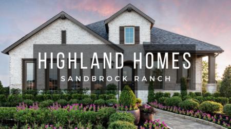 Sandbrock Ranch - Highland Homes Model Tour 50s | Celina Tx