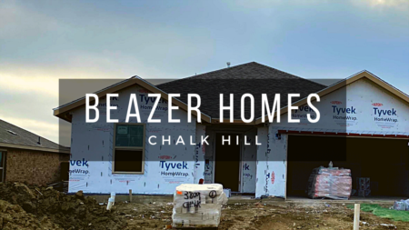 Building A Beazer Home at Chalk Hill in Celina Tx (part 6)