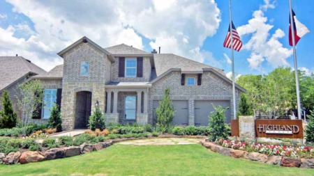 Highland Homes in Timber Creek