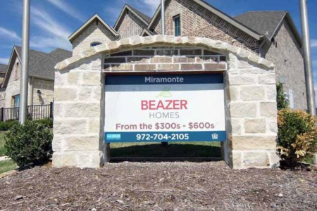 Beazer Homes Miramonte Frisco TX