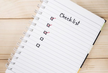 A Checklist For the First-Time Homebuyer