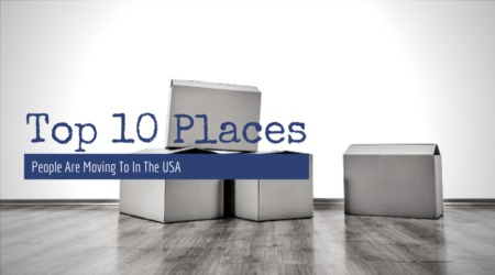 The top 10 places people are moving to