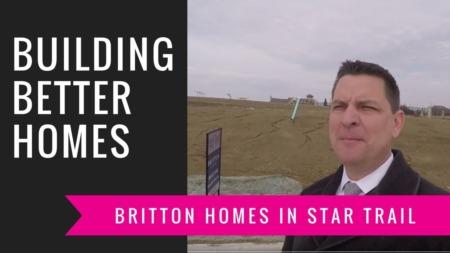 Building A Britton Home - Blueprints