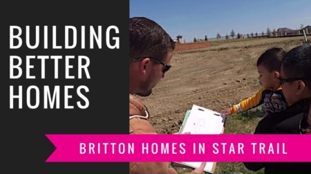 Building A Britton Home - Site Walk