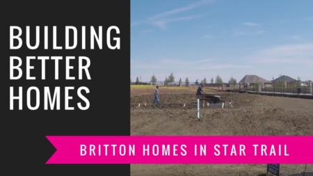 Building A Britton Home - Trenching The Foundation
