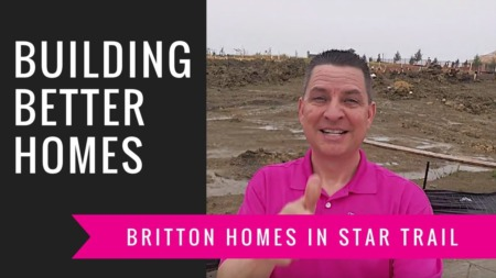 Building A Britton Home - Trenching The Foundation (Rain Delay)