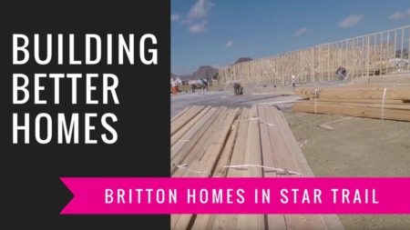 Building A Britton Home - Framing