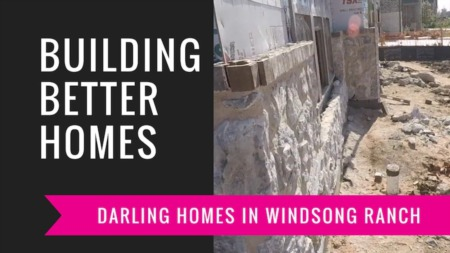 Building A Darling Home - Bricks & Stone